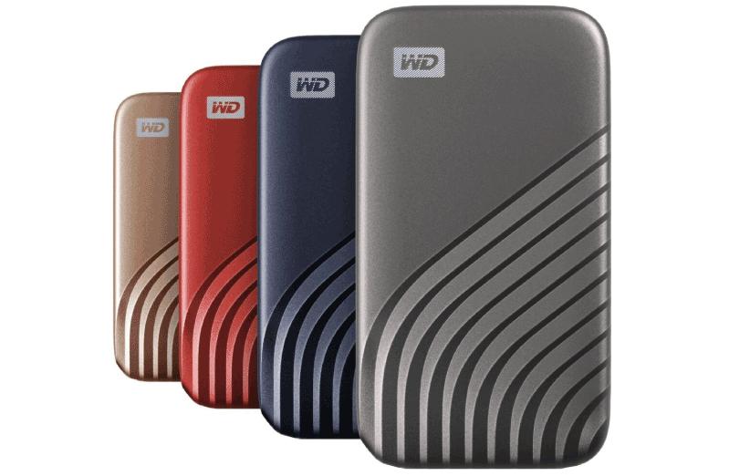 اس اس دی (SSD) جدید پرتابل وسترن دیجیتال
