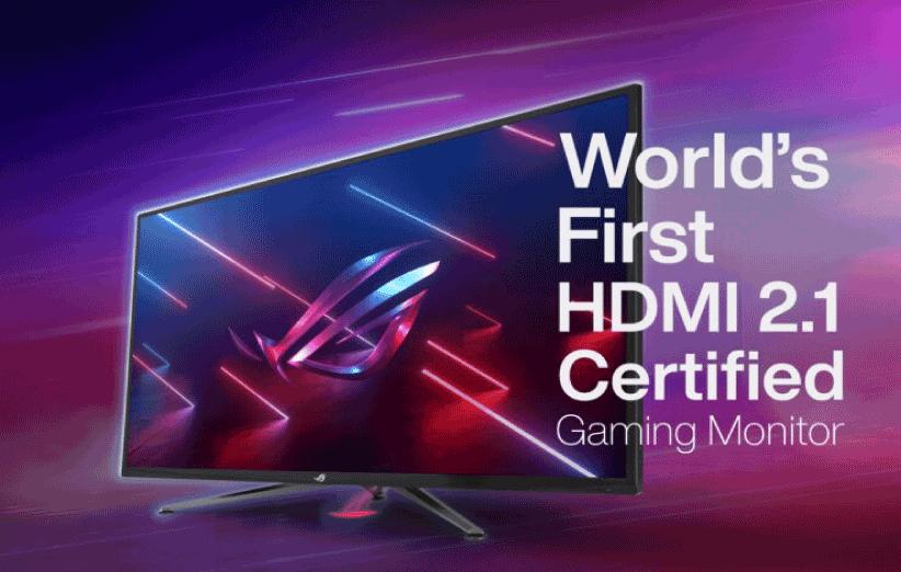 صفحه نمایش ایسوس با گواهی HDMI 2.1