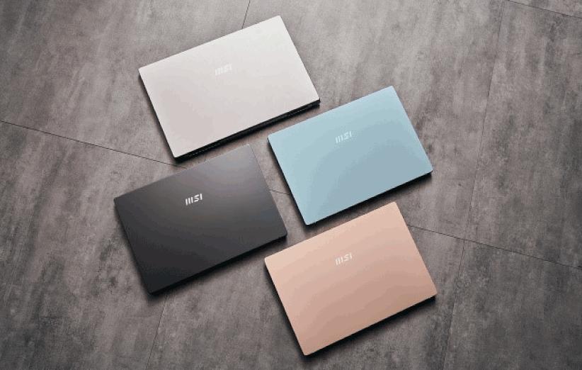 لپ تاپ Intel Evo کمپانی MSI