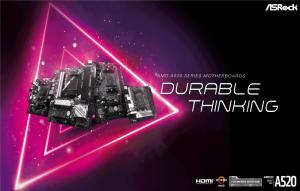 مادربردهای ASRock AMD A520 در مرحله عرضه به بازار