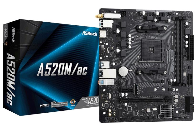 مادربردهای ASRock سری AMD A520
