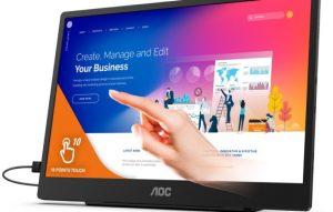 AOC از نمایشگر جدید 15.6 اینچی خود رونمایی کرد