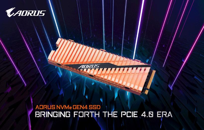 مشخصات Aorus Gen4 SSD گیگابایت