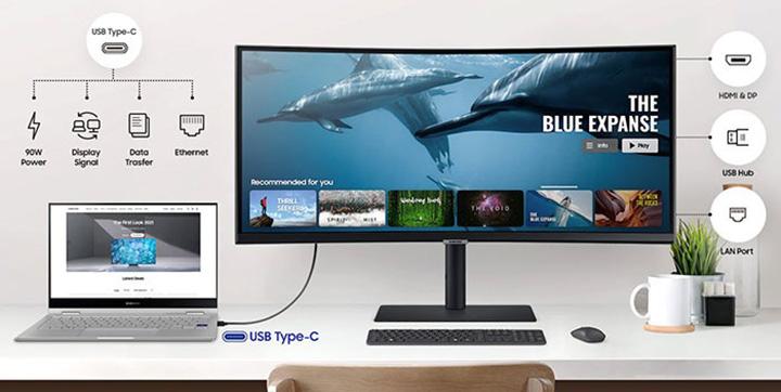 نمایشگر 34 اینچی Ultra WQHD LS34A650 سامسونگ معرفی شد