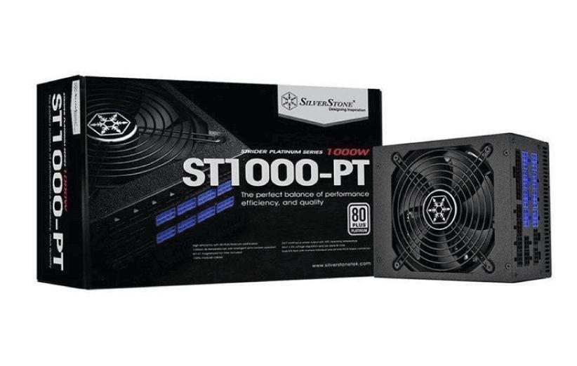 پاور سیلور استون مدل Strider Platinum SST-ST1000-PT