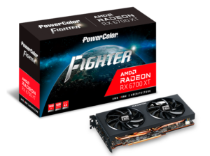 کارت گرافیک پاورکالر مدل FIGHTER Radeon RX 6700 XT