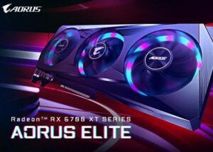 کارت گرافیک گیگابایت Radeon RX 6700 XT AORUS Elite معرفی شد