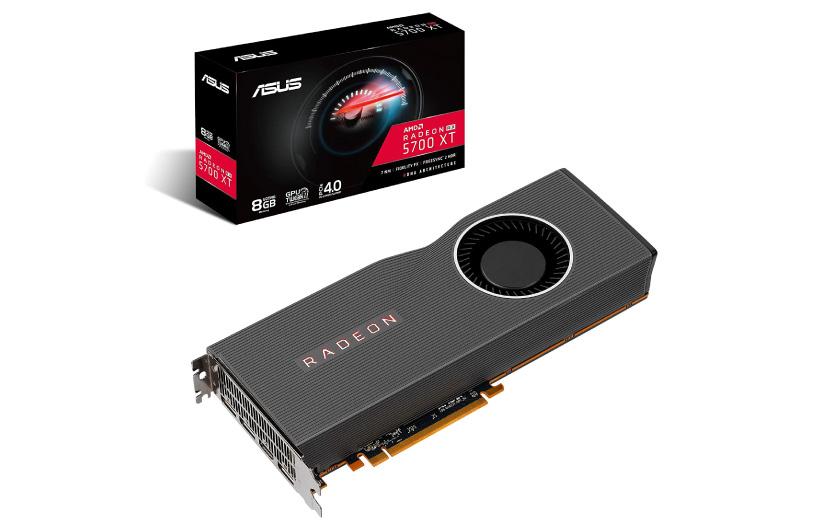 کارت گرافیک RX 5700XT شرکت AMD