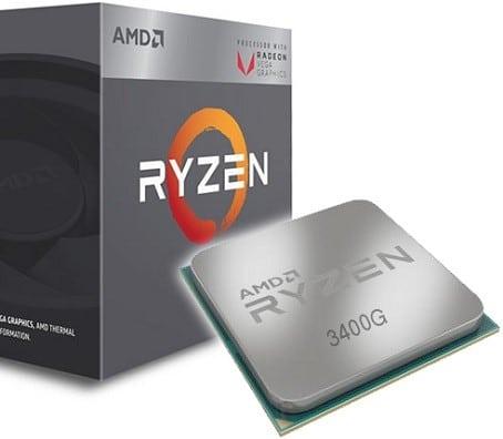 پردازنده پردازنده AMD Ryzen 5 3400G
