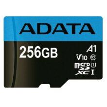 کارت حافظه ای دیتا مدل ADATA Premier micro SDXC/SDHC UHS-I Class 10 (A1) 256 GB