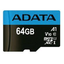 کارت حافظه ای دیتا مدل ADATA Premier micro SDXC/SDHC UHS-I Class 10 (A1) 64 GB