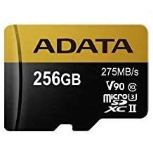 کارت حافظه ای دیتا مدل ADATA Premier ONE  micro SDXC UHS-II Class 10 256 GB