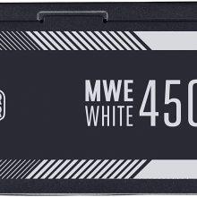 منبع تغذیه کامپیوتر کولر مستر مدل Cooler Master MWE White 450