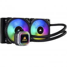 خنک کننده مایع پردازنده کورسیر مدل Corsair Hydro H100i Platinum RGB