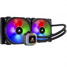 فن خنک کننده مایع پردازنده کورسیر مدل Corsair HYDRO SERIES H115i RGB PLATINUM