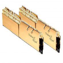 رم دسکتاپ RAM Gskill Trident Z Royal Gold RGB 16GB 8GBx2 4000MHz CL18 DDR4