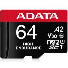 کارت حافظه ای دیتا مدل ADATA High Endurance UHS-I U3 Class 10 64 GB