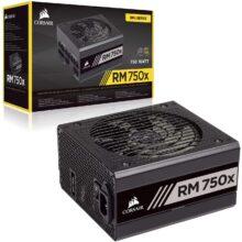 منبع تغذیه کامپیوتر کورسیر مدل RM750X 80 PLUS Gold Fully Modular
