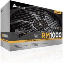 منبع تغذیه کامپیوتر کورسیر مدل RM1000 80 PLUS Gold Fully Modular