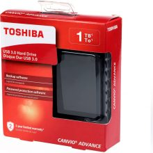 هارد اکسترنال Toshiba Canvio Advance External Hard Drive 1TB