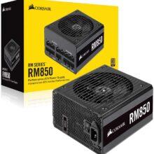 منبع تغذیه کامپیوتر کورسیر مدل RM850 80 PLUS Gold Fully Modular