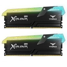 رم دسکتاپ تیم گروپ دو کاناله RAM TEAMGROUP T-Force XCALIBUR RGB Special Edition DDR4 16G (2x8GB) 3600MHZ CL18