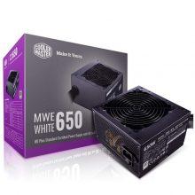منبع تغذیه کامپیوتر کولر مستر مدل POWER Cooler Master MWE 650 White