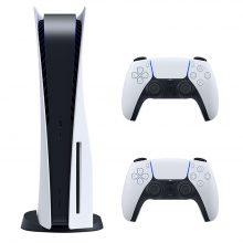 کنسول بازی سونی Playstation 5 ظرفیت 825 گیگابایت به همراه دسته اضافی
