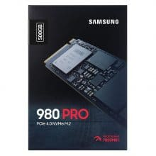 اس اس دی سامسونگ Samsung 980 Pro Internal NVMe M2 500GB Internal SSD