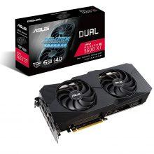 کارت گرافیک ایسوس DUAL RX5600XT TOP EVO 6GB DDR6