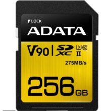 کارت حافظه ای دیتا مدل ADATA Premier SDXC UHS-II Class 10 256 GB