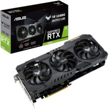 کارت گرافیک ایسوس مدل ASUS TUF Gaming GeForce RTX 3060 OC Edition 12GB GDDR6