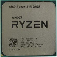 پردازنده ای ام دی Ryzen 3 4300GE Tray باندل با مادربردهای ایسوس
