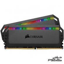 رم دسکتاپ کورسیر Corsair Dominator Platinum RGB 32GB 16GBx2 3200MHz CL16 Desktop RAM