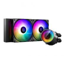 خنک کننده مایع پردازنده دیپ کول Castle 240 RGB V2