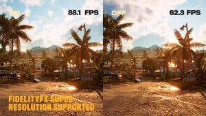 FSR AMD عملکرد 46٪ را در Far Cry 6 افزایش می دهد
