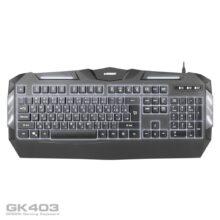 کیبورد گیمینگ گرین مدل Gaming Keyboard Green GK403