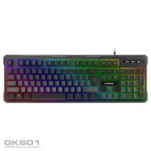 کیبورد گیمینگ گرین مدل Gaming Keyboard Green GK601