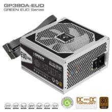 منبع تغذیه (پاور) گرین 380 وات مدل GREEN Power GP380A-EUD