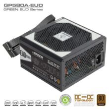 منبع تغذیه (پاور) گرین 580 وات مدل GREEN Power GP580A-EUD