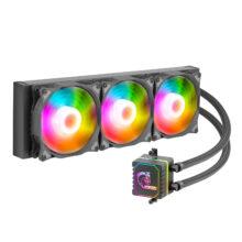 خنک کننده (فن) پردازنده گرین مدل Green Glacier GLC360 ARGB CPU Fan
