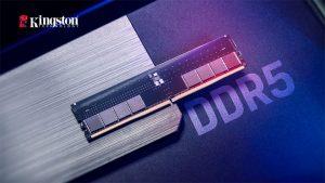 کیت های حافظه DDR5 16 و 32 گیگابایتی کینگستون دارای مهر تایید اینتل هستند