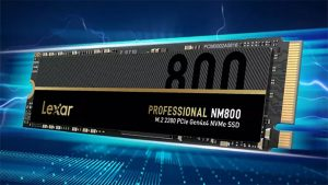 Lexar SSD های NM800 را راه اندازی می کند: حداکثر تا 7400 مگابیت بر ثانیه با گرافن حرارت دهنده