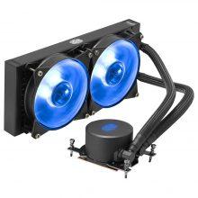 سیستم خنک کننده کولر مستر مدل Cooler Master MasterLiquid 240 RGB TR4 Edition