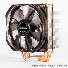 خنک کننده (فن) پردازنده گرین مدل Green NOTUS 400 CPU Fan