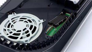 PS5 از M.2 SSD پشتیبانی می کند