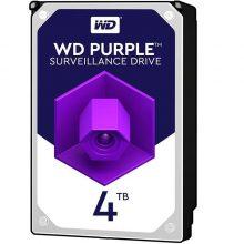 هارد دیسک Western Digital Purple ظرفیت 4 ترابایت