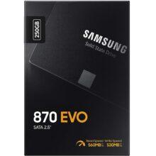 اس اس دی سامسونگ SATA SAMSUNG 870 EVO 250GB
