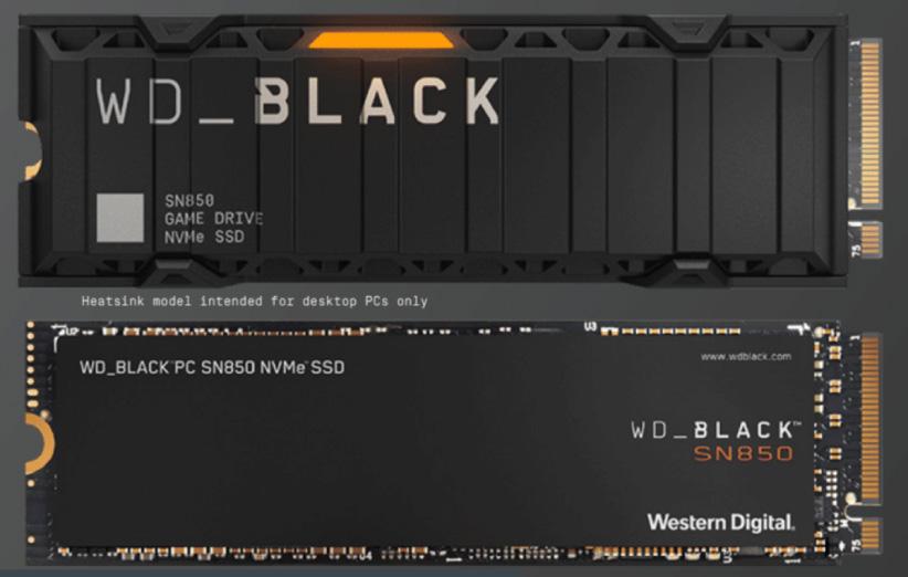 SSD وسترن دیجیتال مدل Black SN850