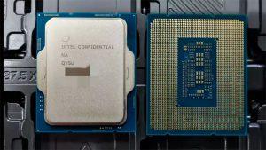 گفته می شود پردازنده های Intel 12th Alder Lake سری T سری 35W دارای سرعت 4.9 گیگاهرتز هستند